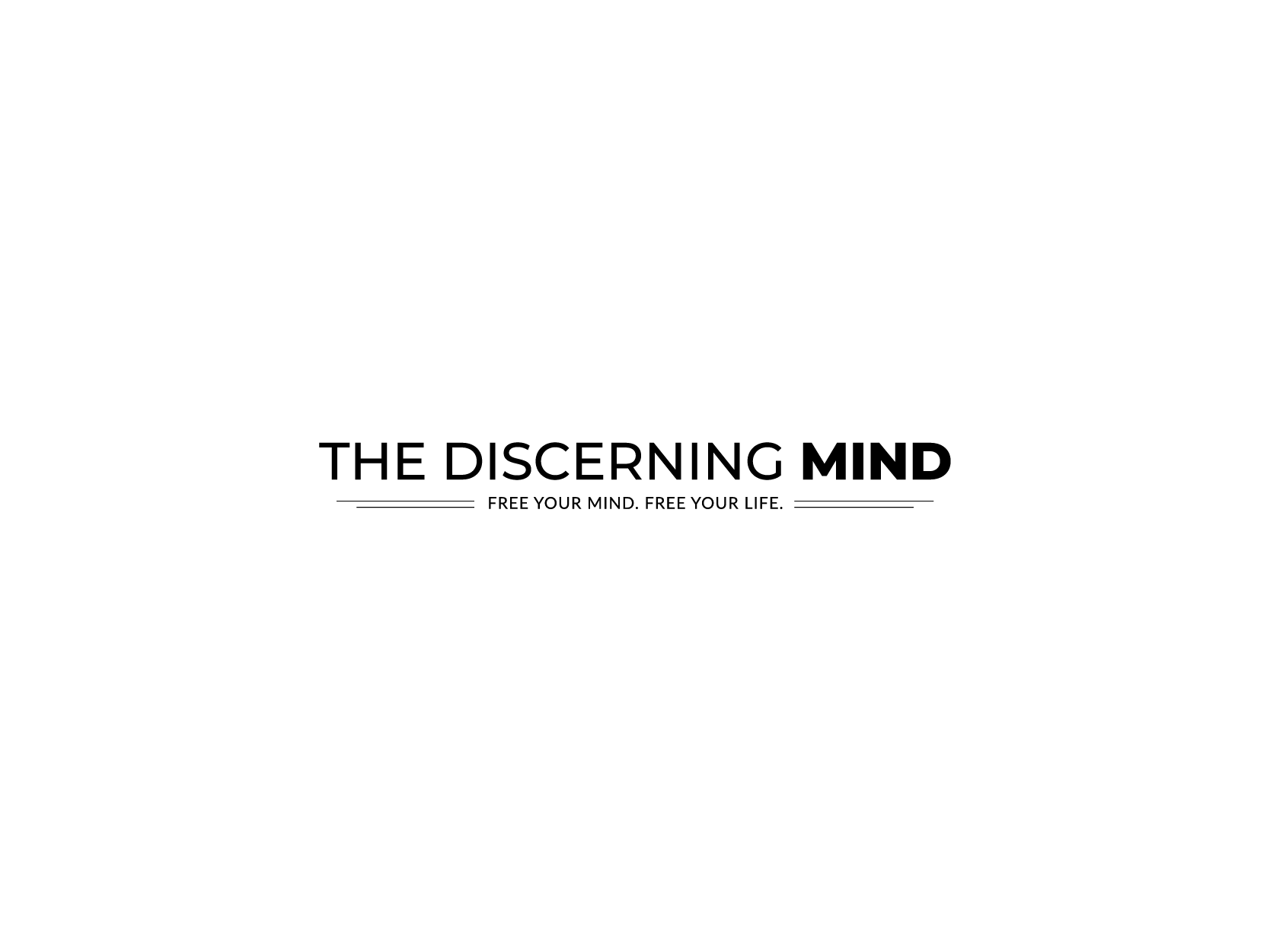 The Discerning Mind  Logo Design