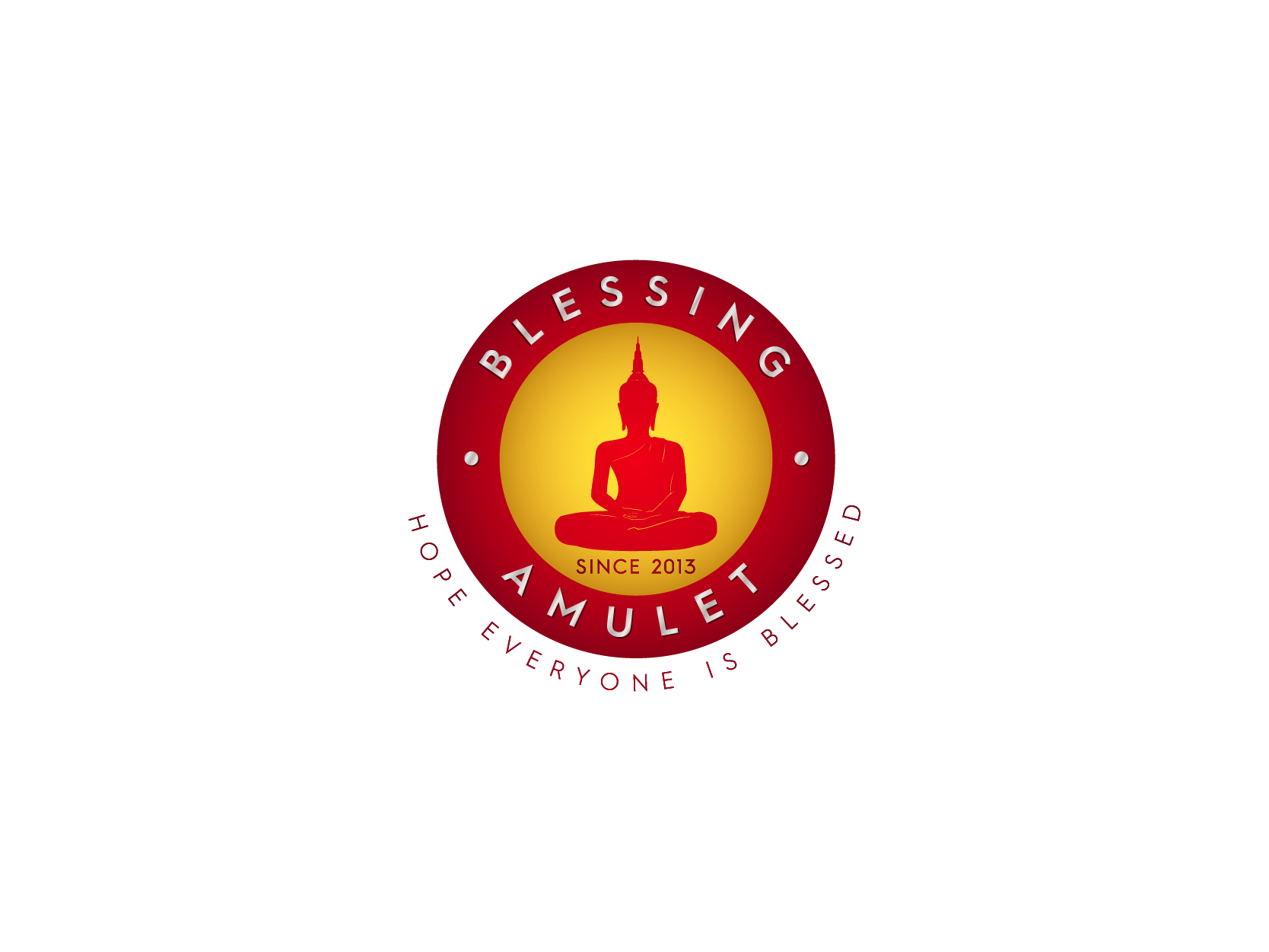 Blessing Amulet Logo Design