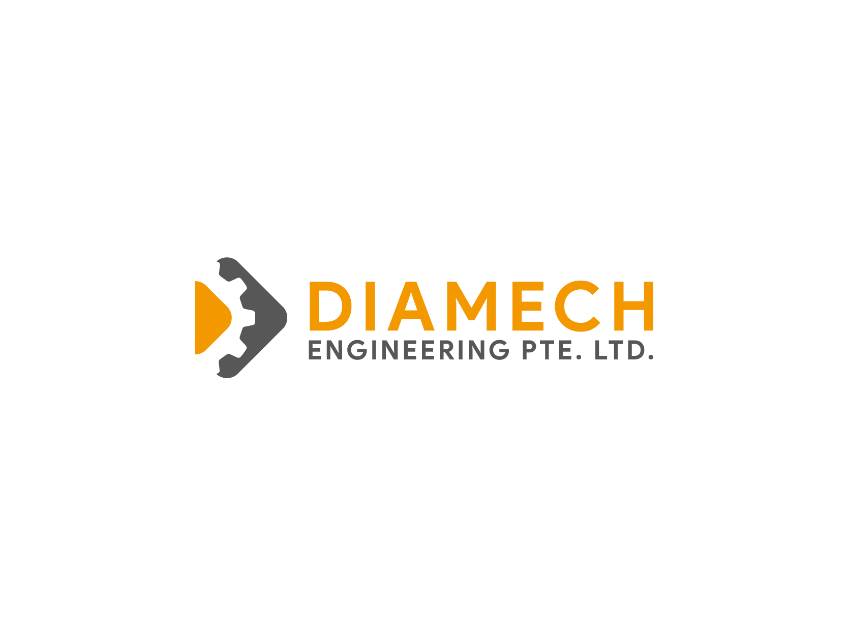 DIAMECH Engineering Pte Ltd Logo Design