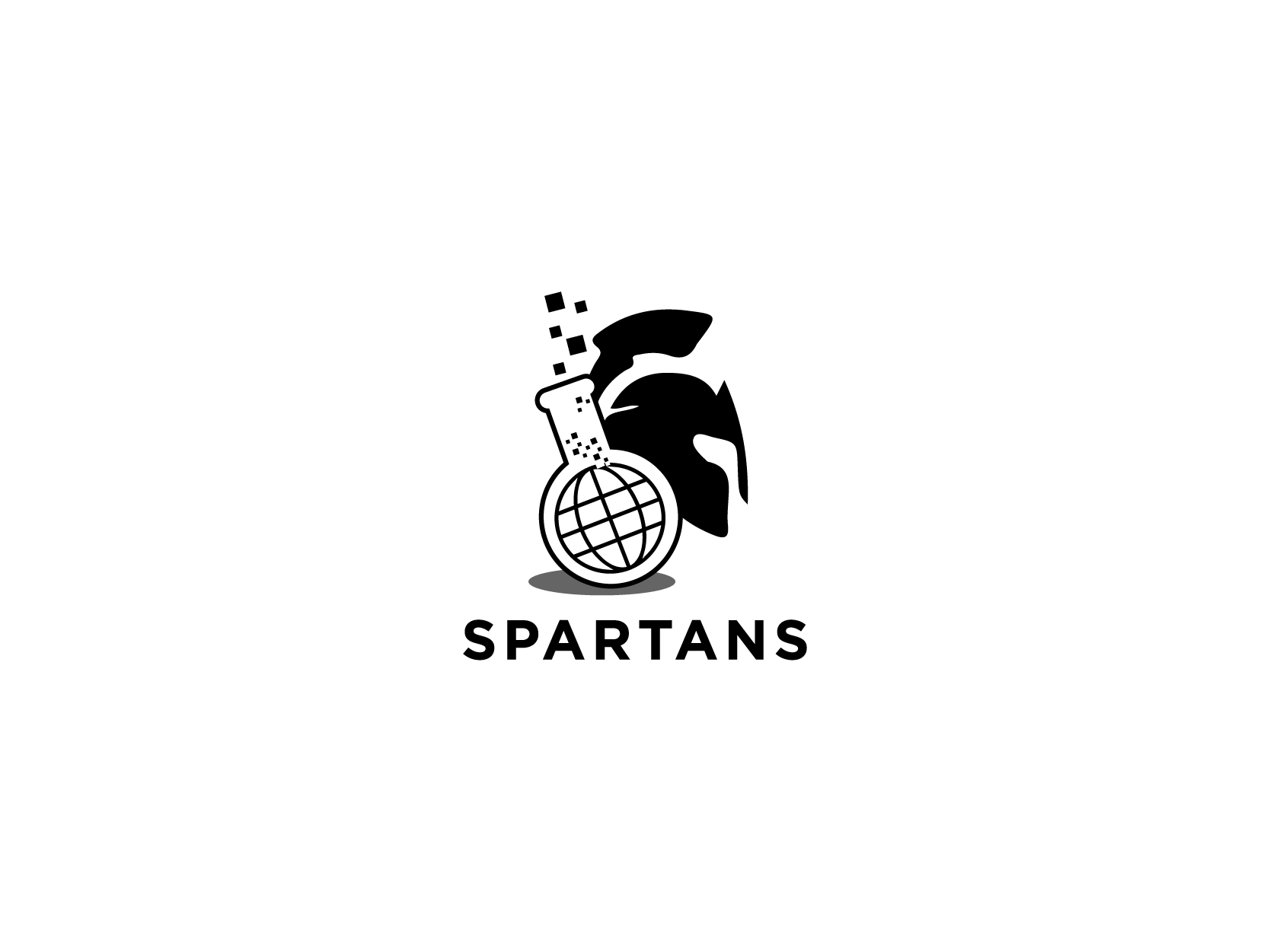 Spartans Logo Design