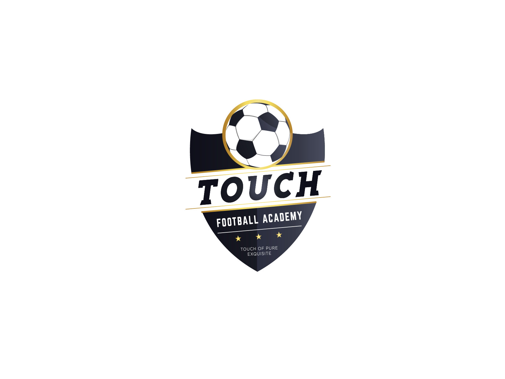 TOUCH Football Academy Logo Design