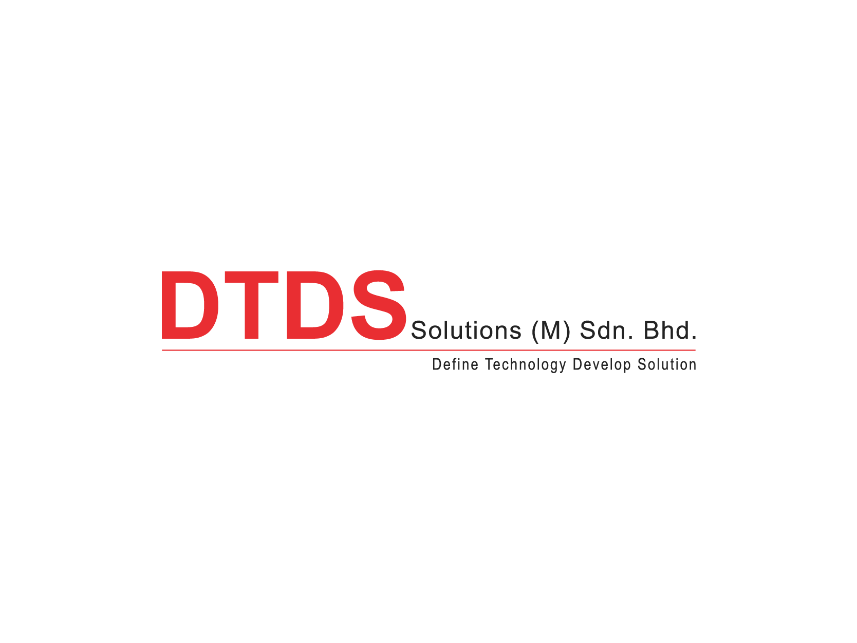 DTDS Solutions Logo Design