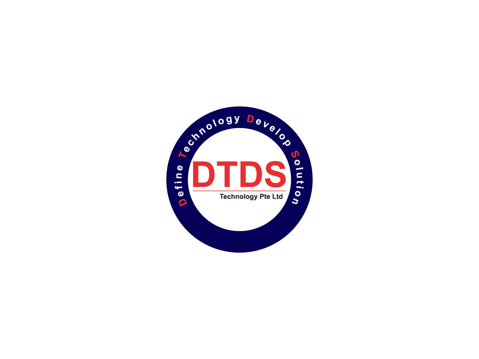 DTDS Technology Pte Ltd Logo Design